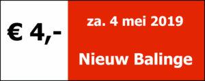 Nieuw-Balinge 2019 - za