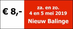 Opgave Drentse Hooglanden Wandel2daagse vanuit Nieuw Balinge op 4 en 5 mei 2019. Na betaling is de reservering definitief, u ontvangt geen bevestiging per mail. Uw startkaart ligt klaar bij het startbureau.